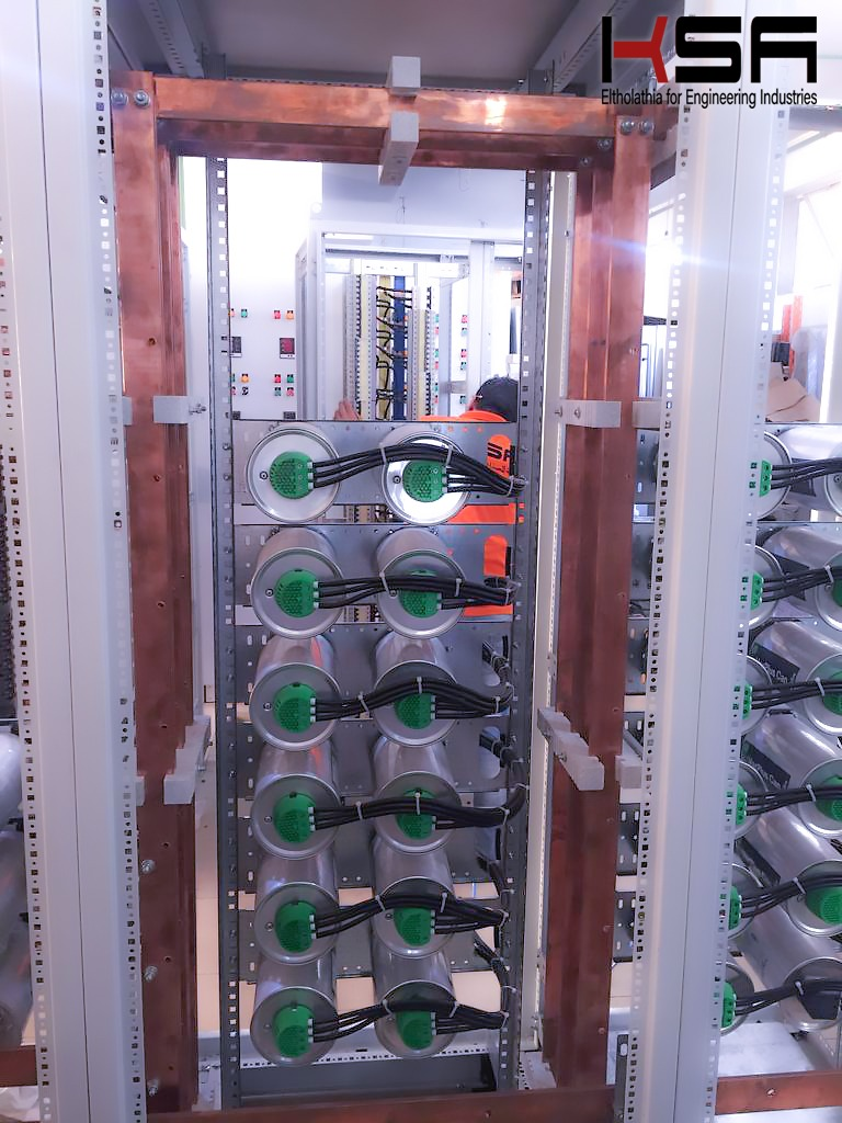 KSA Capacitor bank enclosure